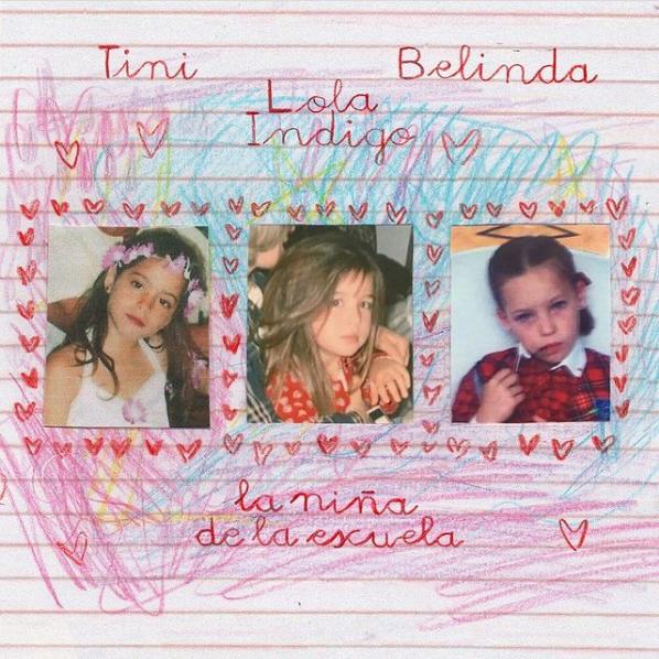 Tini, Lola Índigo, and Belinda