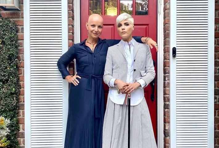 Actress Selma Blair and director Rachel Fleit