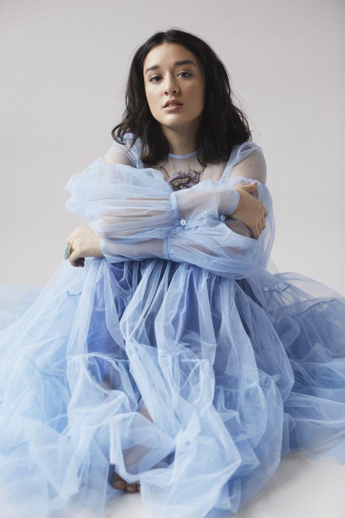 Lairen Patel: blue dress