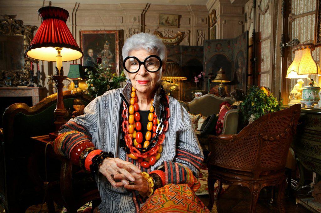 Iris Apfel celebrated her 100th birthday! Iris Apfel celebrated her 100th birthday! Vanity Teen 虚荣青年 Menswear & new faces magazine