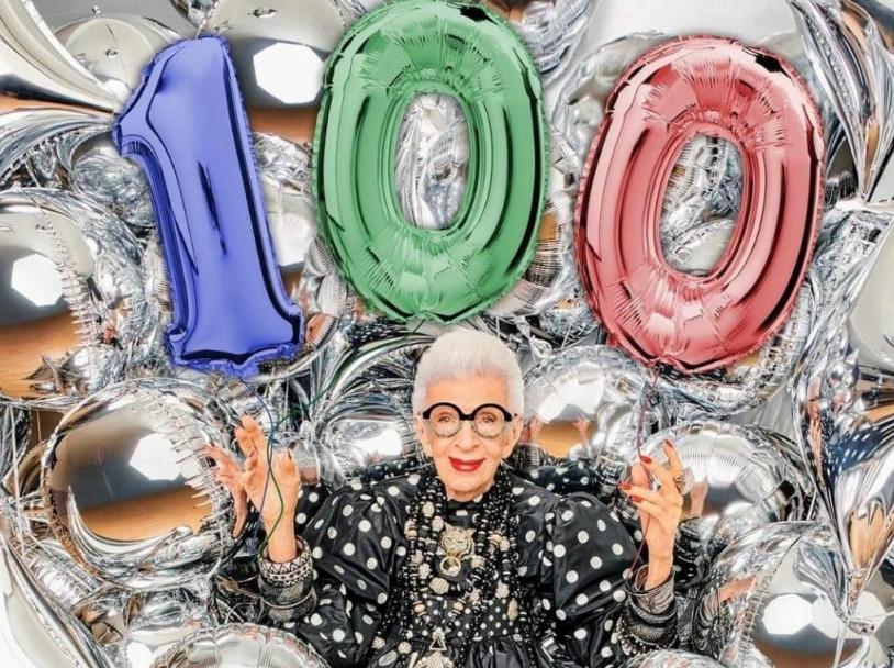 Iris Apfel 100 Birthday